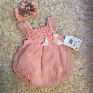 Other - Baby dress with head band new